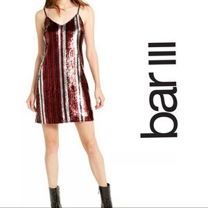 BAR III SEQUINS Dress in size XL NWT